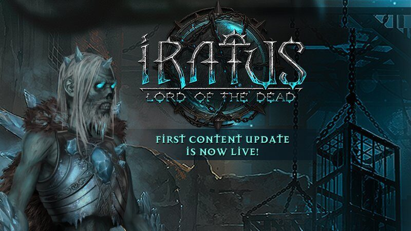 First content update is now live!